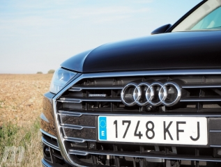 Fotos prueba Audi A8 2018 Foto 16