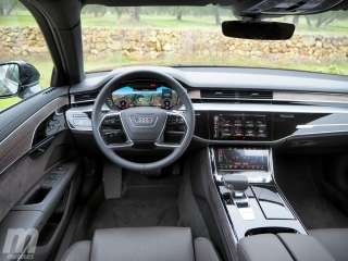 Fotos prueba Audi A8 2018 Foto 25