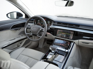 Fotos prueba Audi A8 2018 Foto 30