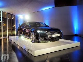 Fotos prueba Audi A8 2018 Foto 64