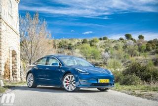 Fotos prueba Tesla Model 3 - Foto 4