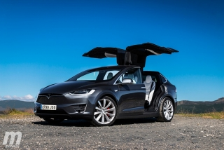 Fotos prueba Tesla Model X P100D - Foto 1