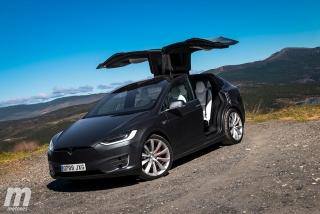 Fotos prueba Tesla Model X P100D - Foto 5
