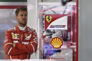 Fotos Sebastian Vettel F1 2017 Foto 24