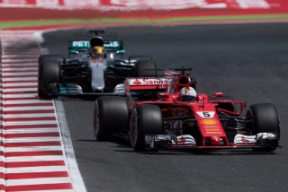 Fotos Sebastian Vettel F1 2017 Foto 45