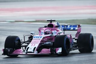 Fotos Sergio Pérez F1 2018