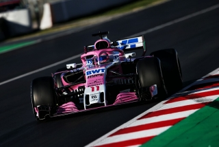 Fotos Sergio Pérez F1 2018 Foto 5