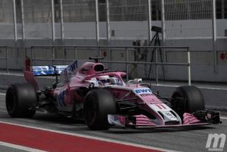 Fotos Sergio Pérez F1 2018 Foto 10