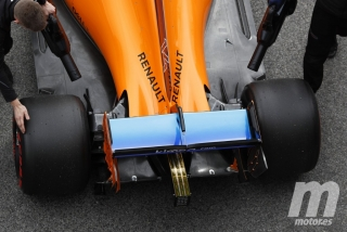 Fotos técnicas pretemporada F1 2018
