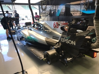 Foto 4 - Fotos test F1 Hungría 2017