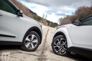 Foto 2 - Fotos Toyota C-HR vs Kia Niro