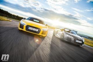 Galería Audi R8 Coupé vs R8 Spyder - Foto 1
