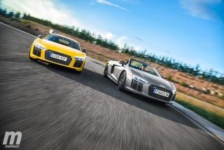Galería Audi R8 Coupé vs R8 Spyder - Foto 2