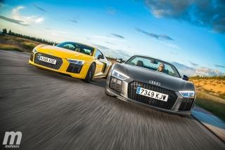 Galería Audi R8 Coupé vs R8 Spyder - Foto 3