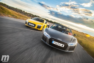 Galería Audi R8 Coupé vs R8 Spyder - Foto 4