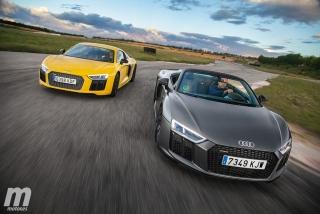 Galería Audi R8 Coupé vs R8 Spyder - Foto 5