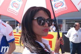Las pitbabes de SuperBike en el Circuito de Jerez