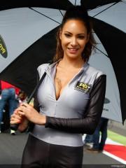 Paddock girls: Gran Premio de Gran Bretaña
