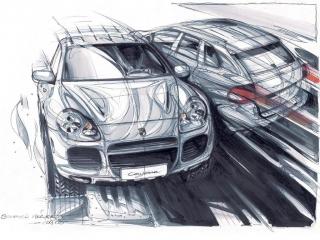 Porsche Cayenne, primera generación (2002 - 2010) Foto 2