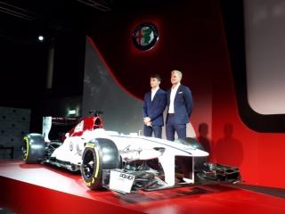 Fotos Presentación Alfa Romeo Sauber F1 Team Foto 6