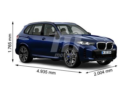 Medidas BMW X5: longitud, anchura, altura y maletero