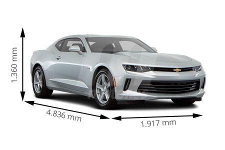 Medidas Chevrolet Camaro Longitud Anchura Altura Y Maletero