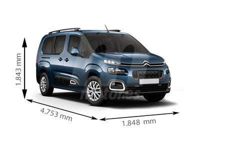 Medidas de coches Citroën