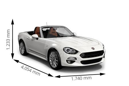 Medidas de coches Fiat