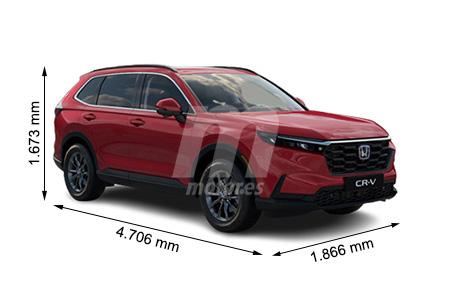 Medidas Honda Cr V Longitud Anchura Altura Y Maletero