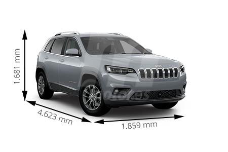 Medidas de coches Jeep