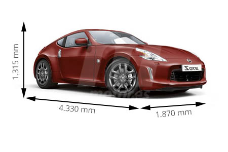 Medidas de coches Nissan