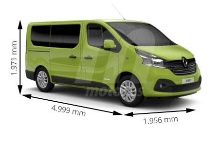 Medidas toyota proace longitud anchura altura y maletero - Medidas interiores furgonetas ...