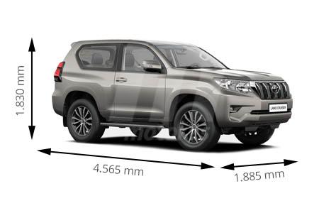Medidas Toyota Land Cruiser Longitud Anchura Altura Y Maletero