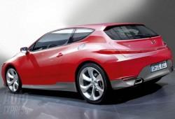Como sería el Honda Civic 2010, recreación.