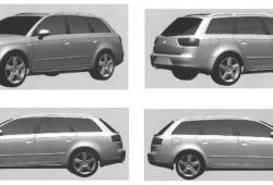 Seat Exeo:  frontal, trasera, lateral e interior.