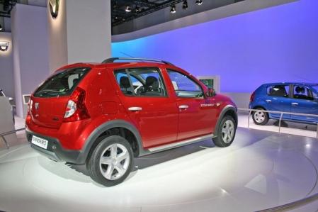 Dacia Sandero Stepway en el Salón Internacional de Barcelona