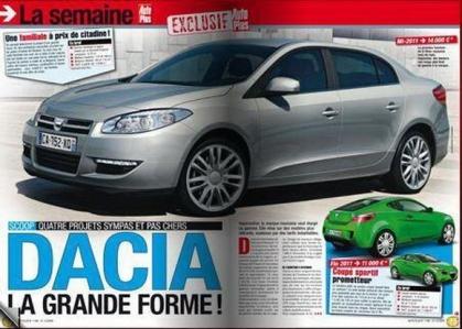 Dacia ya prepara la nueva versión del Logan.