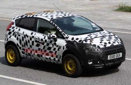 Ford presentará la versión crossover del Fiesta en Ginebra