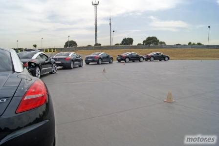 ¿Fotos de la prueba del Peugeot RCZ en el Jarama? Mira nuestra galería.