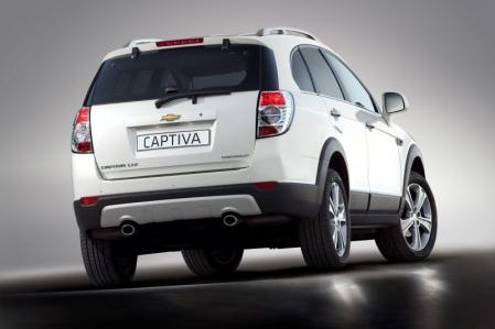 La nueva Chevrolet Captiva estará en París.