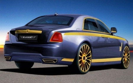 Mansory destroza al Rolls Royce Ghost