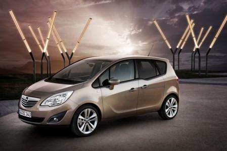 Opel presenta la segunda generación del Meriva.