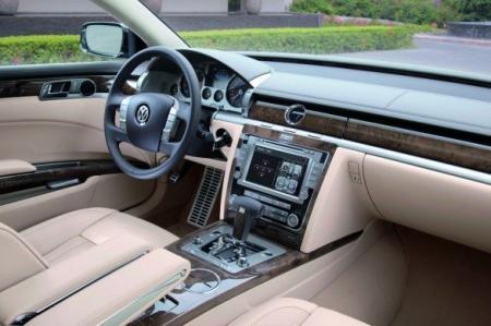 Volkswagen revela todos los detalles del nuevo Phaeton.