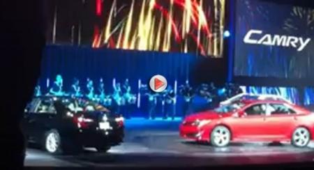 Toyota presentó a sus concesionarios el nuevo Camry