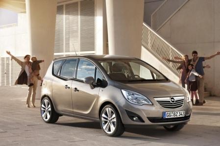 Detalle de equipamiento del Opel Meriva 2012