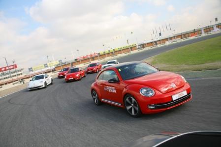 VW Race Tour 2011, emociones fuertes