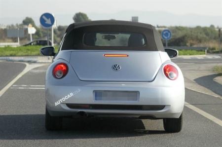 Nuevas fotos espías del Volkswagen Beetle cabrio