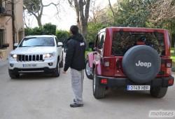 Jeep Grand Cherokee 3.0 V6 CRD Limited y Jeep Wrangler Arctic. Toma de contacto. Pásate por la 'Academy'