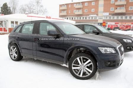 Audi sigue de pruebas con el Q6 vestido de Q5