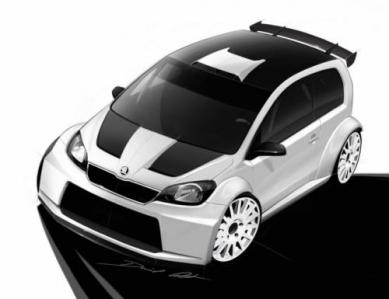 Skoda Citigo Rally Concept, otra novedad para el Worthersee 2012